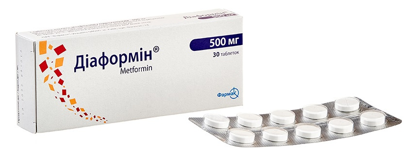 Diaformin 500 mg