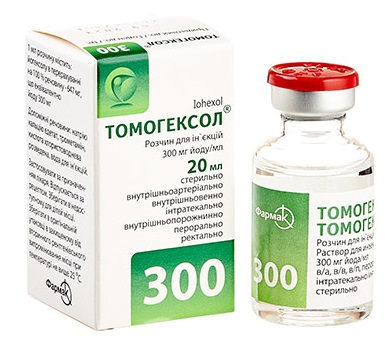 Томогексол® 300 мг йоду/мл