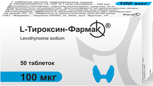 L-Тироксин-Фармак 100 мкг