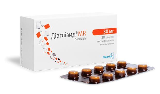 Диаглизид® МR 30 мг
