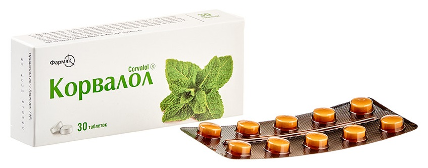 Корвалол® (таблетки)
